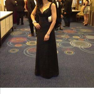 BCBGMaxAzria Dresses - BCBG Herve Leger inspired evening gown-like new!